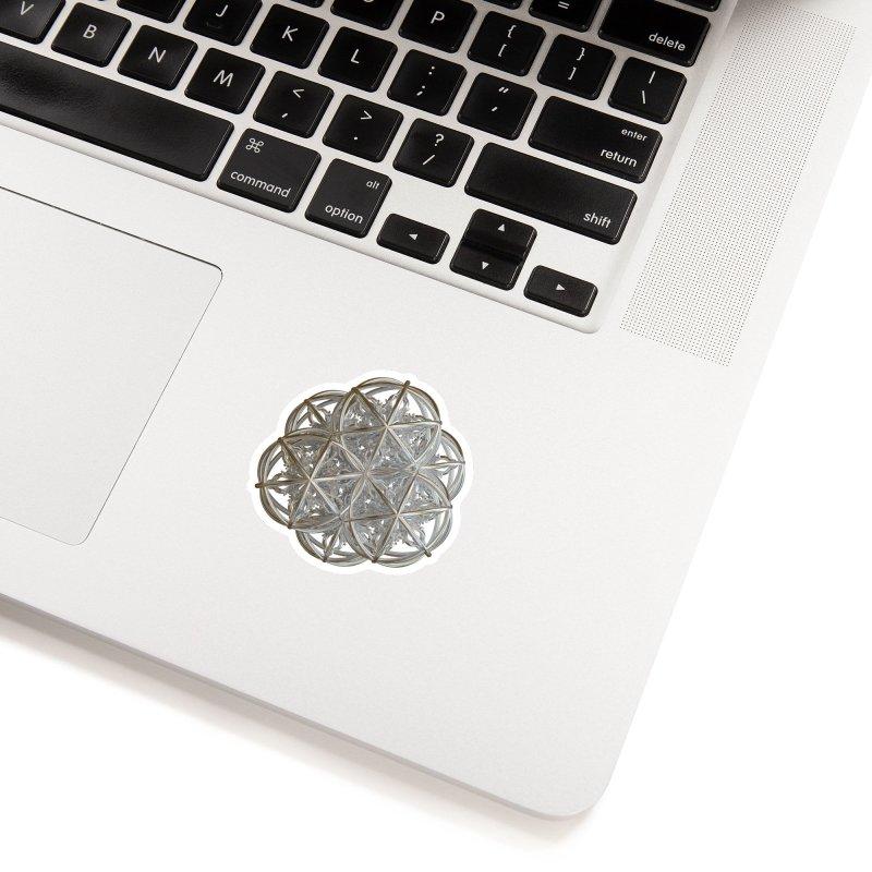 56 Dorje Object Silver v2 Accessories Sticker by diamondheart's Artist Shop