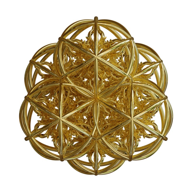 56 Dorje Object Gold v2 by diamondheart's Artist Shop