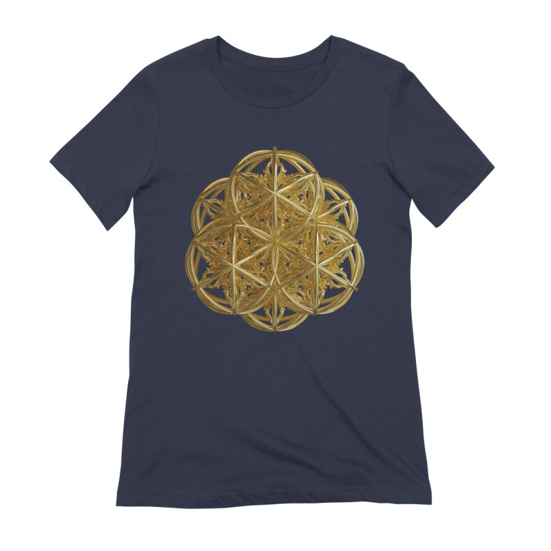 56 Dorje Object Gold v2 Women's Extra Soft T-Shirt by diamondheart's Artist Shop