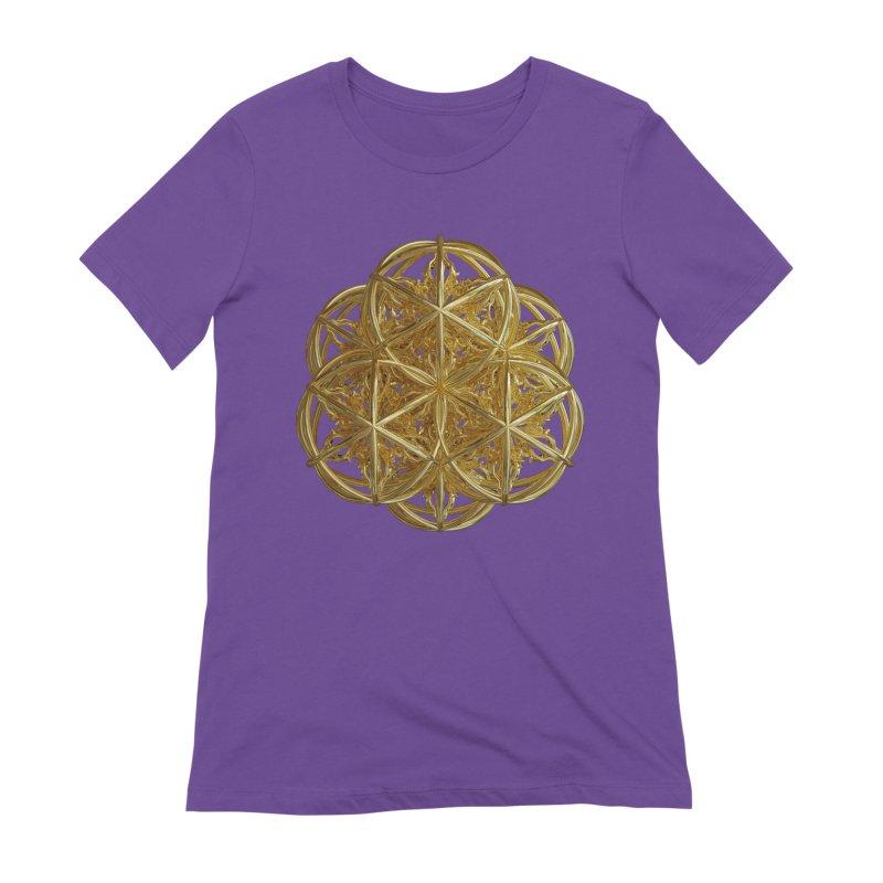 56 Dorje Object Gold v2 Women's Extra Soft T-Shirt by diamondheart's Artist Shop
