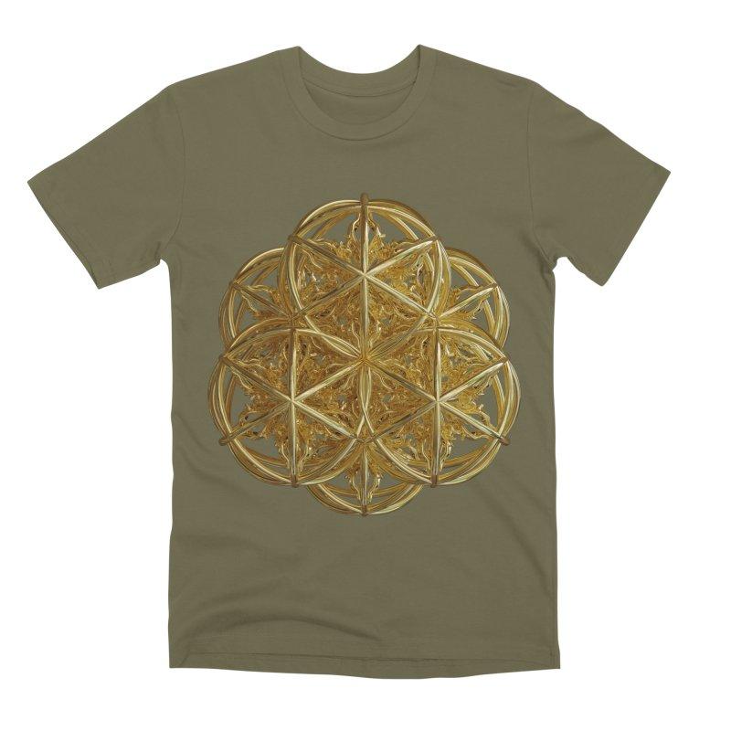 56 Dorje Object Gold v2 Men's Premium T-Shirt by diamondheart's Artist Shop
