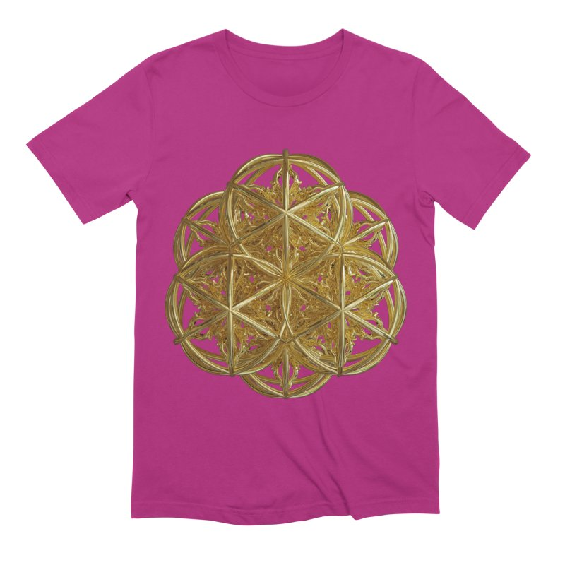 56 Dorje Object Gold v2 Men's Extra Soft T-Shirt by diamondheart's Artist Shop