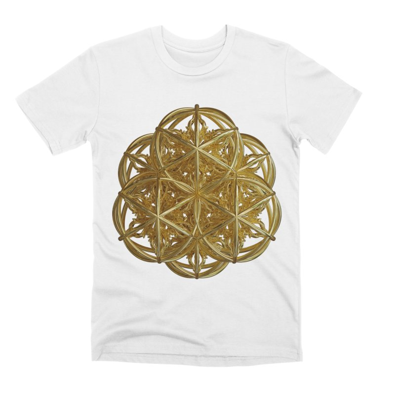 56 Dorje Object Gold v2 Men's Premium T-Shirt by diamondheart's Artist Shop