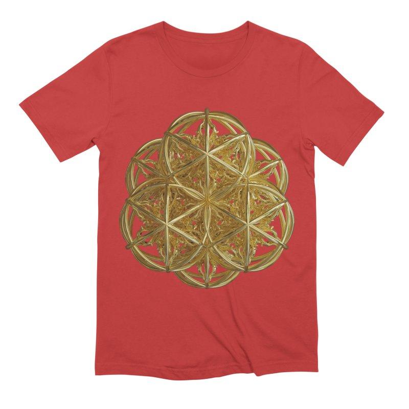 56 Dorje Object Gold v2 Men's Extra Soft T-Shirt by diamondheart's Artist Shop
