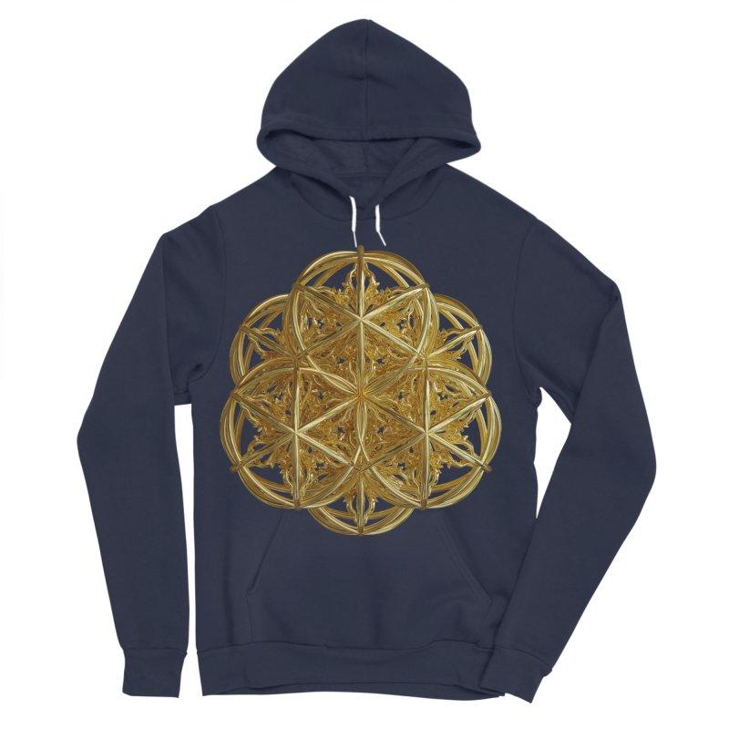 56 Dorje Object Gold v2 Men's Sponge Fleece Pullover Hoody by diamondheart's Artist Shop