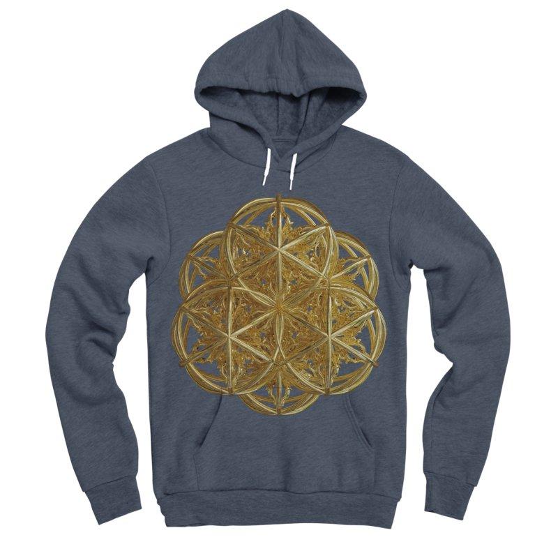 56 Dorje Object Gold v2 Women's Sponge Fleece Pullover Hoody by diamondheart's Artist Shop