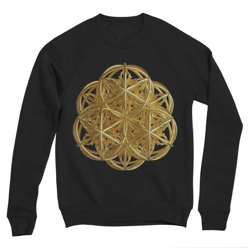 56 Dorje Object Gold v2 Men's Sponge Fleece Sweatshirt by diamondheart's Artist Shop
