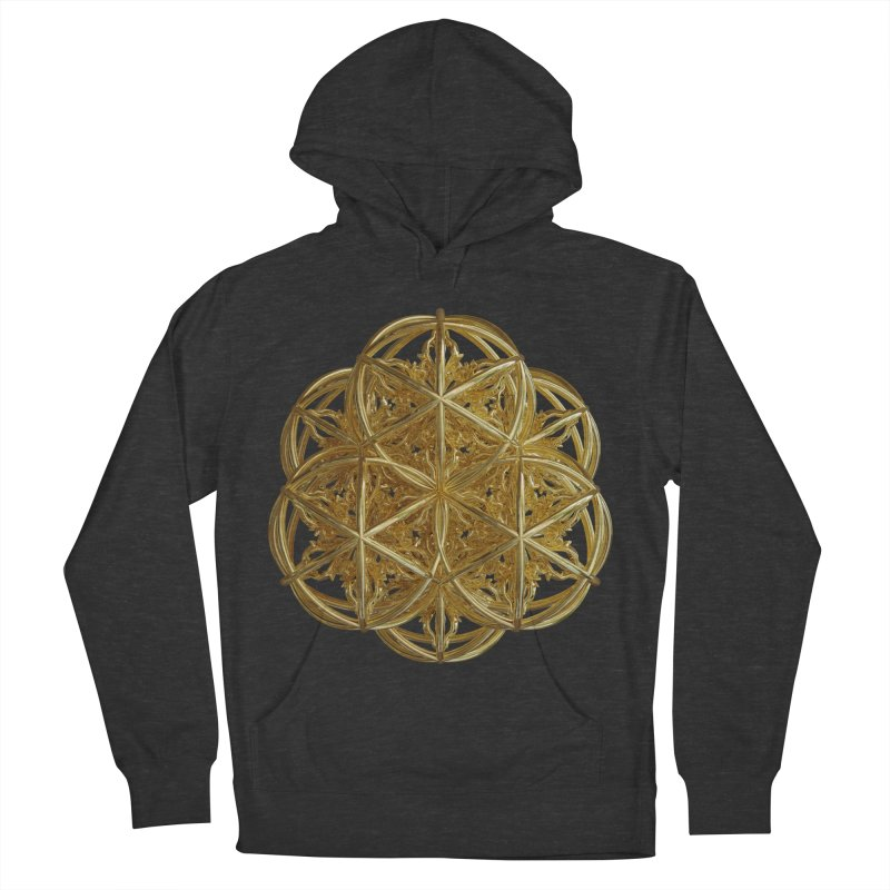 56 Dorje Object Gold v2 Men's Pullover Hoody by diamondheart's Artist Shop