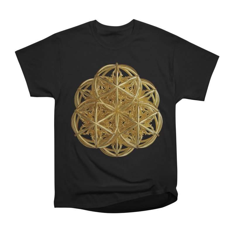 56 Dorje Object Gold v2 Men's Heavyweight T-Shirt by diamondheart's Artist Shop