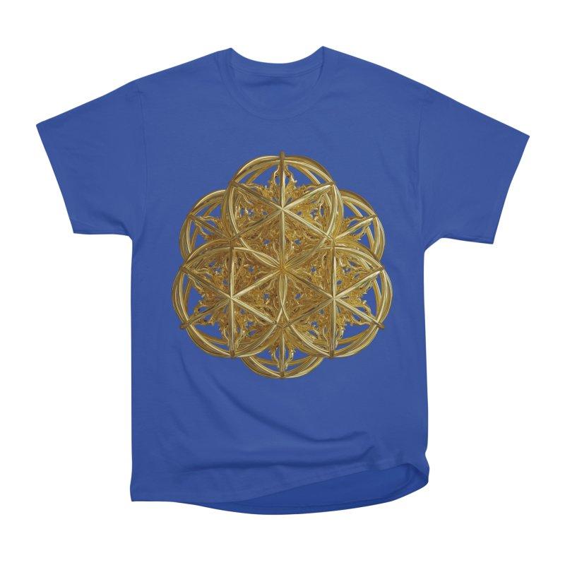 56 Dorje Object Gold v2 Men's Heavyweight T-Shirt by diamondheart's Artist Shop