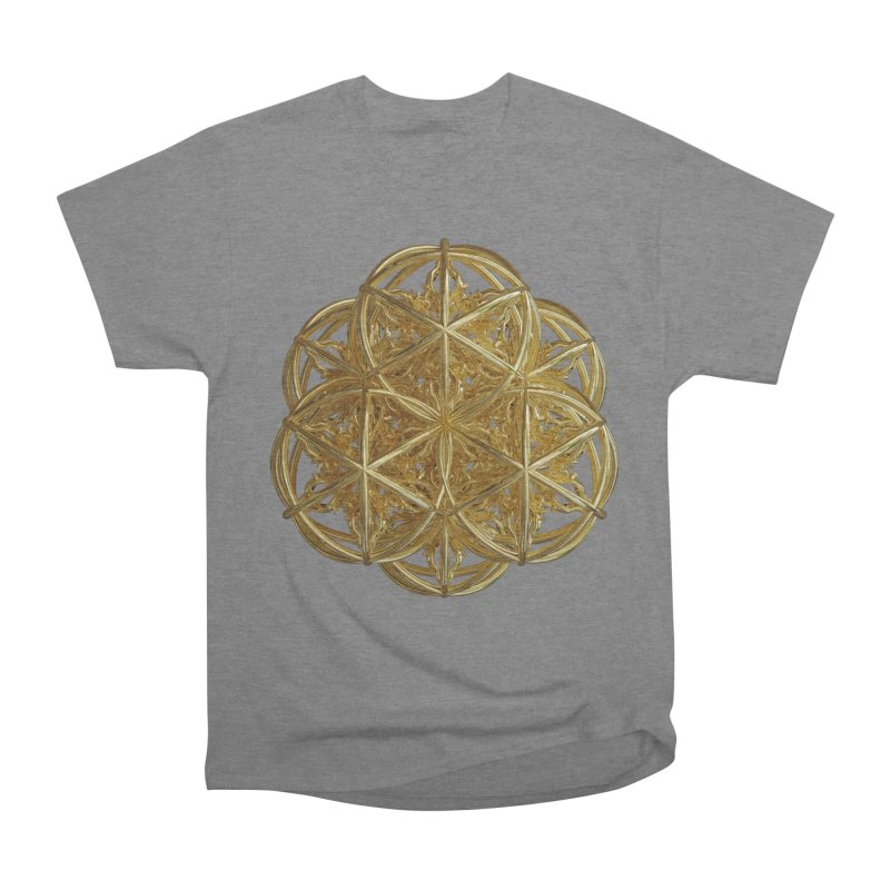 56 Dorje Object Gold v2 Women's Heavyweight Unisex T-Shirt by diamondheart's Artist Shop