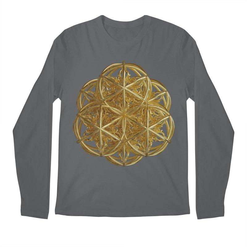 56 Dorje Object Gold v2 Men's Longsleeve T-Shirt by diamondheart's Artist Shop