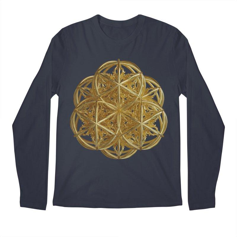 56 Dorje Object Gold v2 Men's Regular Longsleeve T-Shirt by diamondheart's Artist Shop