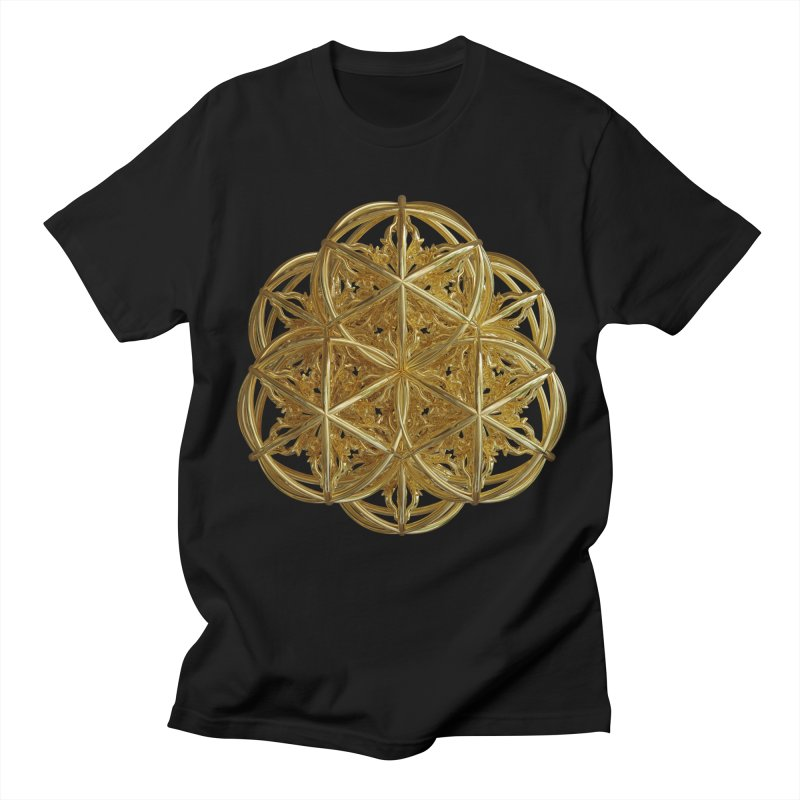 56 Dorje Object Gold v2 Men's Regular T-Shirt by diamondheart's Artist Shop