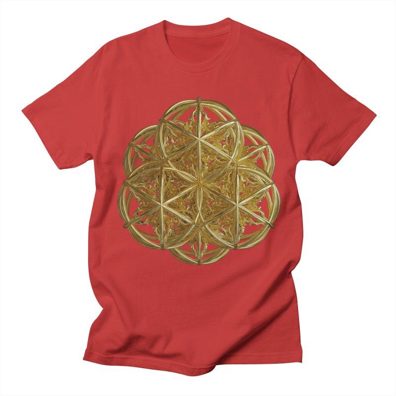 56 Dorje Object Gold v2 Men's Regular T-Shirt by diamondheart's Artist Shop
