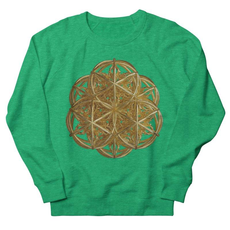 56 Dorje Object Gold v2 Women's French Terry Sweatshirt by diamondheart's Artist Shop