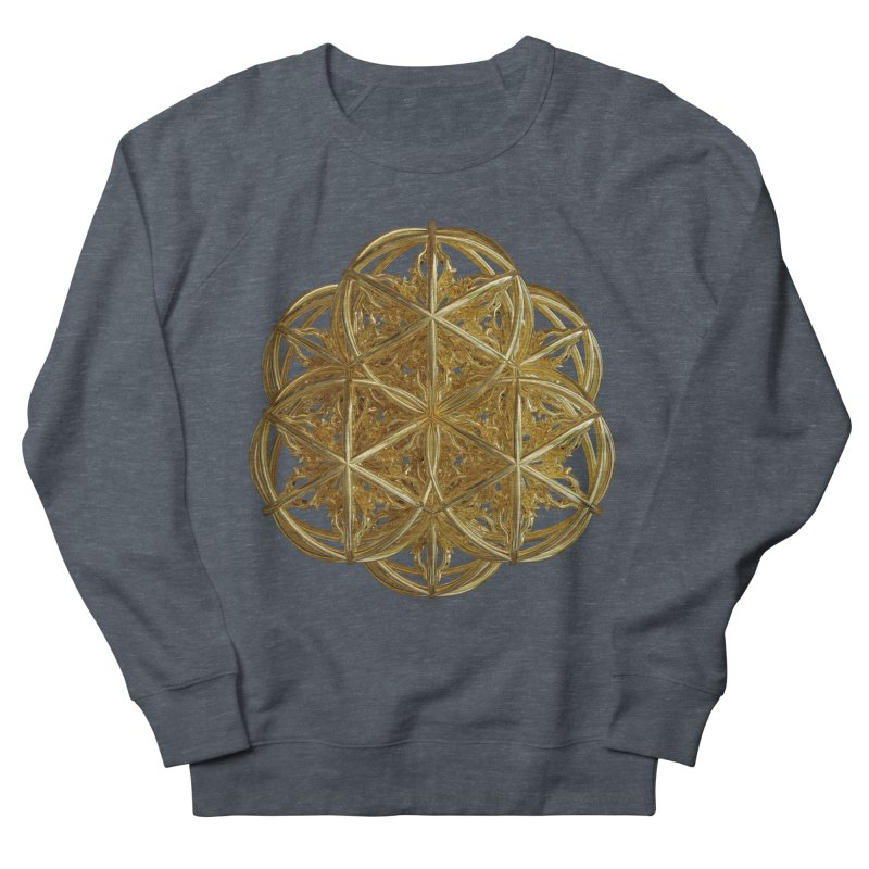 56 Dorje Object Gold v2 Women's French Terry Sweatshirt by diamondheart's Artist Shop