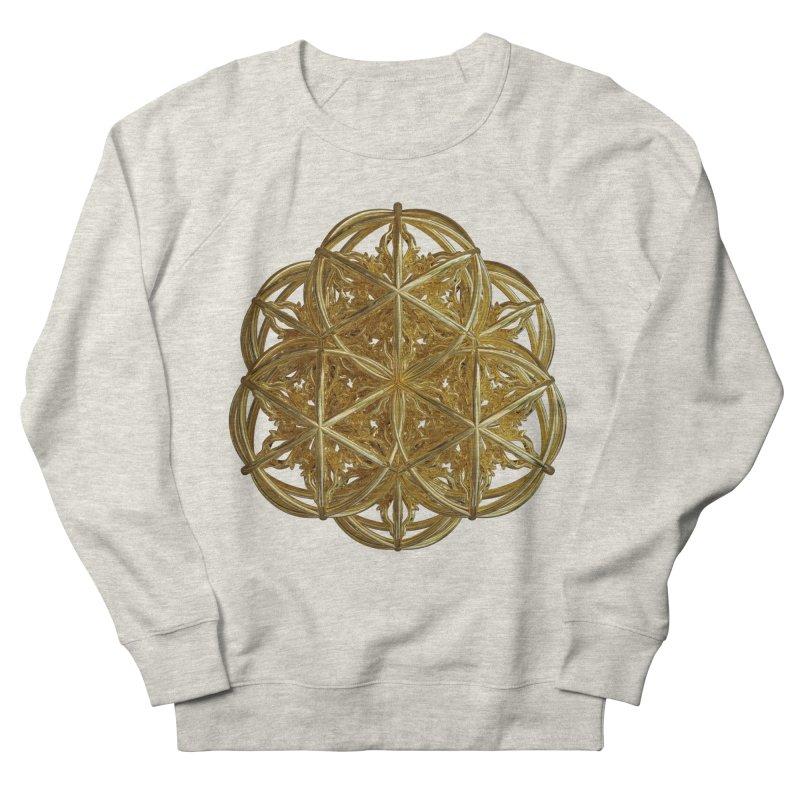 56 Dorje Object Gold v2 Men's French Terry Sweatshirt by diamondheart's Artist Shop