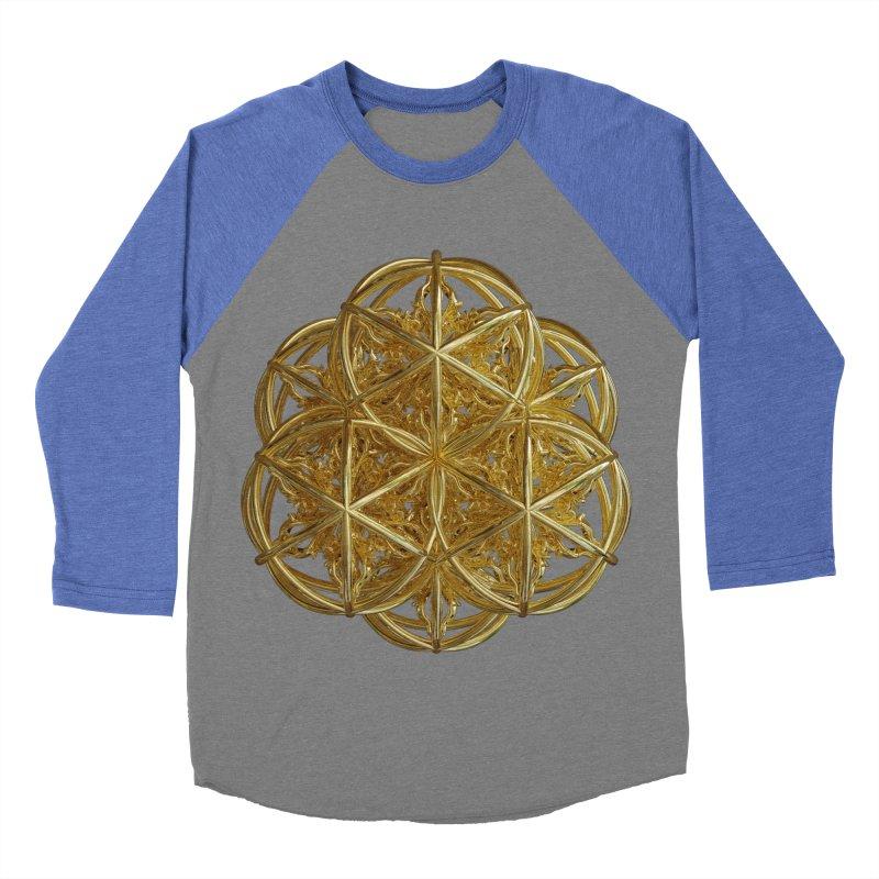 56 Dorje Object Gold v2 Women's Baseball Triblend Longsleeve T-Shirt by diamondheart's Artist Shop