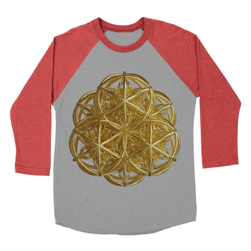 56 Dorje Object Gold v2 Women's Baseball Triblend Longsleeve T-Shirt by diamondheart's Artist Shop