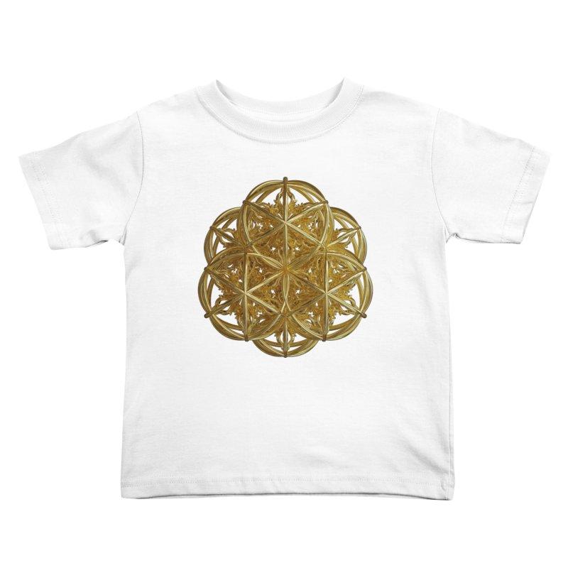 56 Dorje Object Gold v2 Kids Toddler T-Shirt by diamondheart's Artist Shop