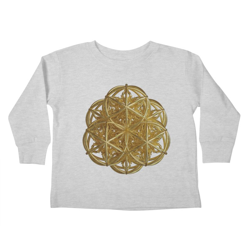 56 Dorje Object Gold v2 Kids Toddler Longsleeve T-Shirt by diamondheart's Artist Shop