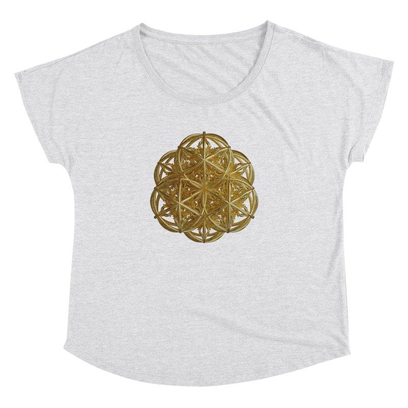 56 Dorje Object Gold v2 Women's Dolman Scoop Neck by diamondheart's Artist Shop