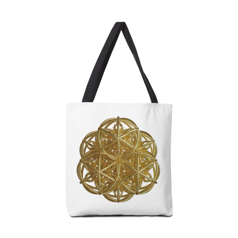 56 Dorje Object Gold v2 Accessories Tote Bag Bag by diamondheart's Artist Shop