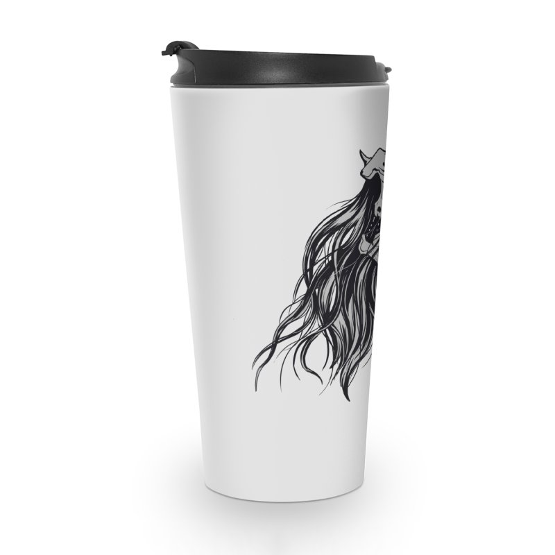 Skull Girl Accessories Travel Mug by Diana's Artist Shop