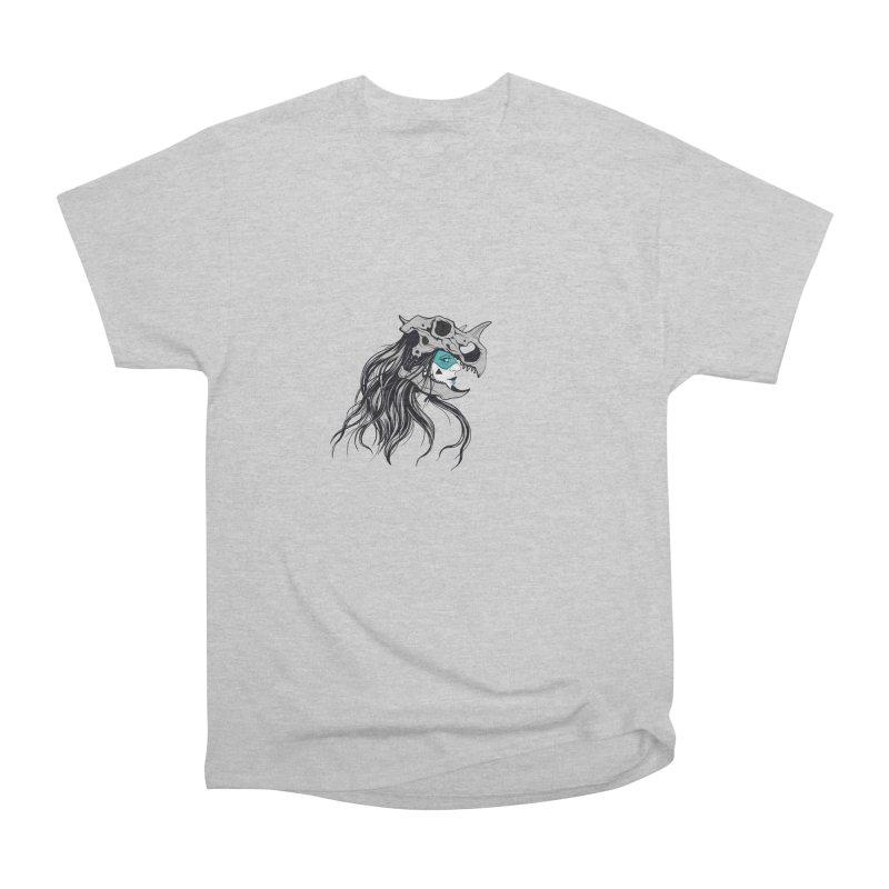 Skull Girl Men's Heavyweight T-Shirt by Diana's Artist Shop