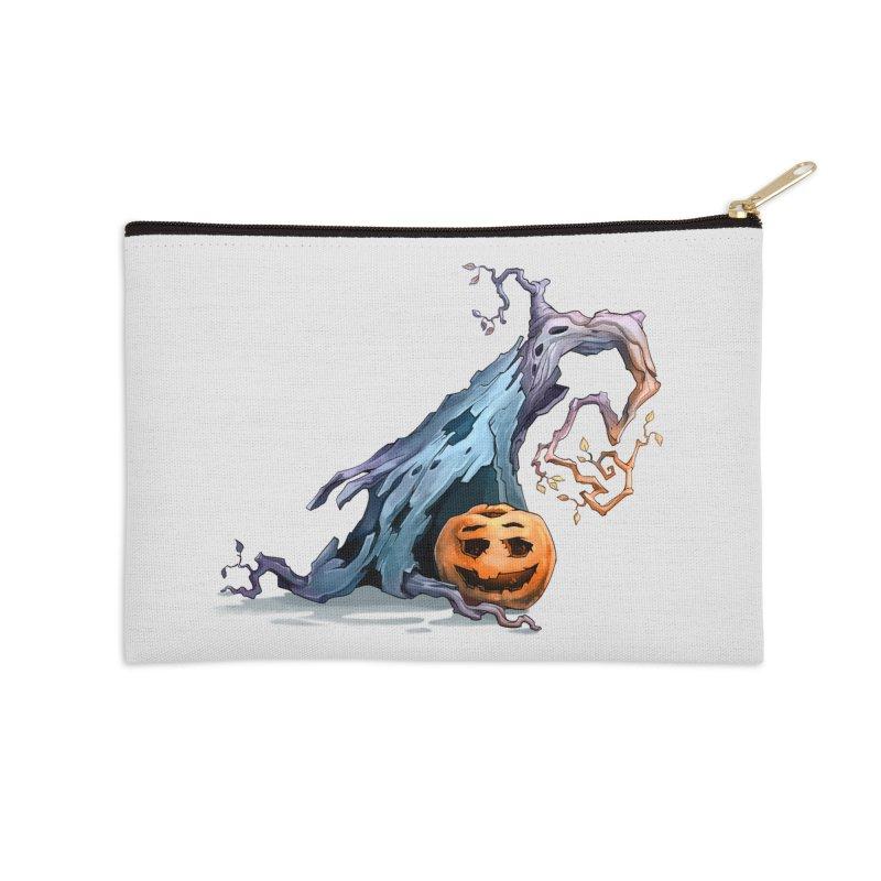 Pumpkin Accessories Zip Pouch by Diana's Artist Shop