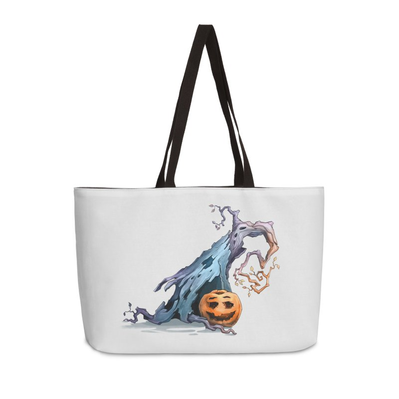 Pumpkin Accessories Weekender Bag Bag by Diana's Artist Shop