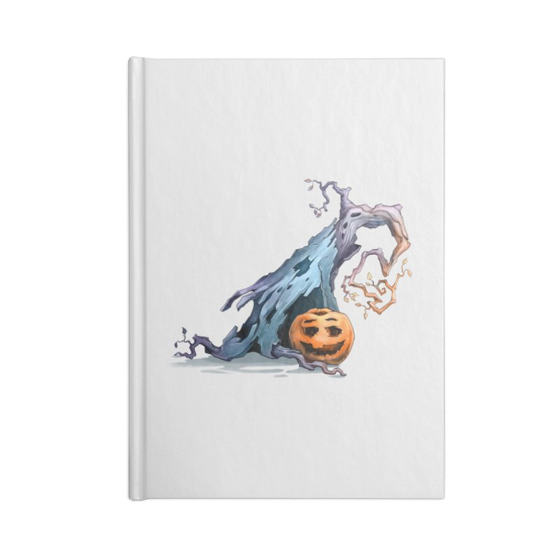 Pumpkin Accessories Blank Journal Notebook by Diana's Artist Shop