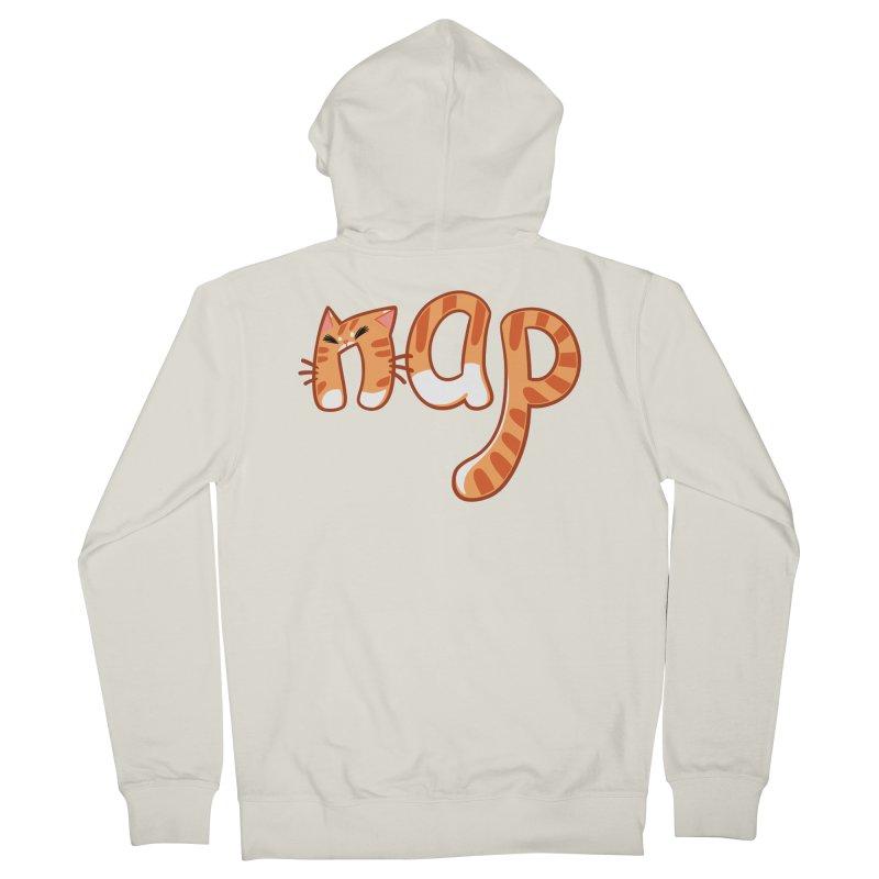 Cat Nap Men's Zip-Up Hoody by dianasprinkle's Artist Shop