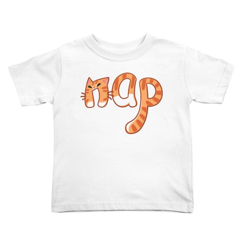 Cat Nap Kids Toddler T-Shirt by dianasprinkle's Artist Shop