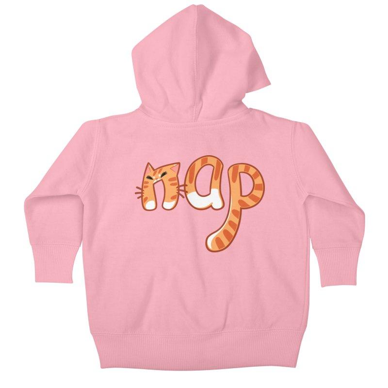 Cat Nap Kids Baby Zip-Up Hoody by dianasprinkle's Artist Shop