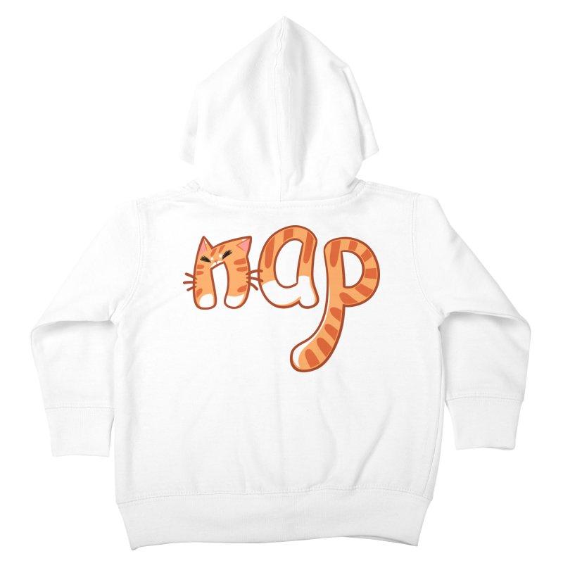 Cat Nap Kids Toddler Zip-Up Hoody by dianasprinkle's Artist Shop