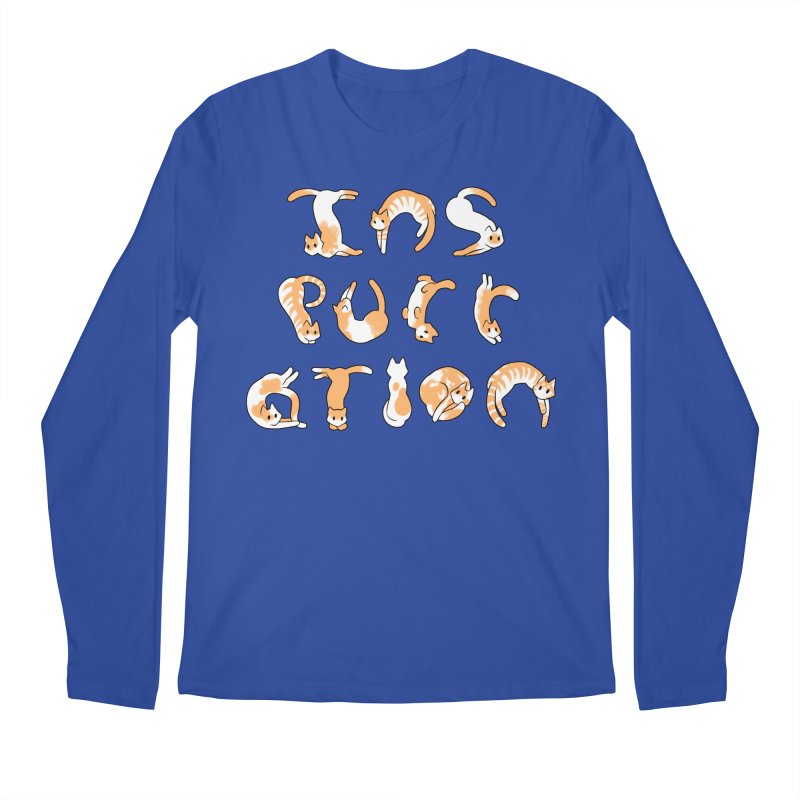 InsPURRation Men's Longsleeve T-Shirt by dianasprinkle's Artist Shop