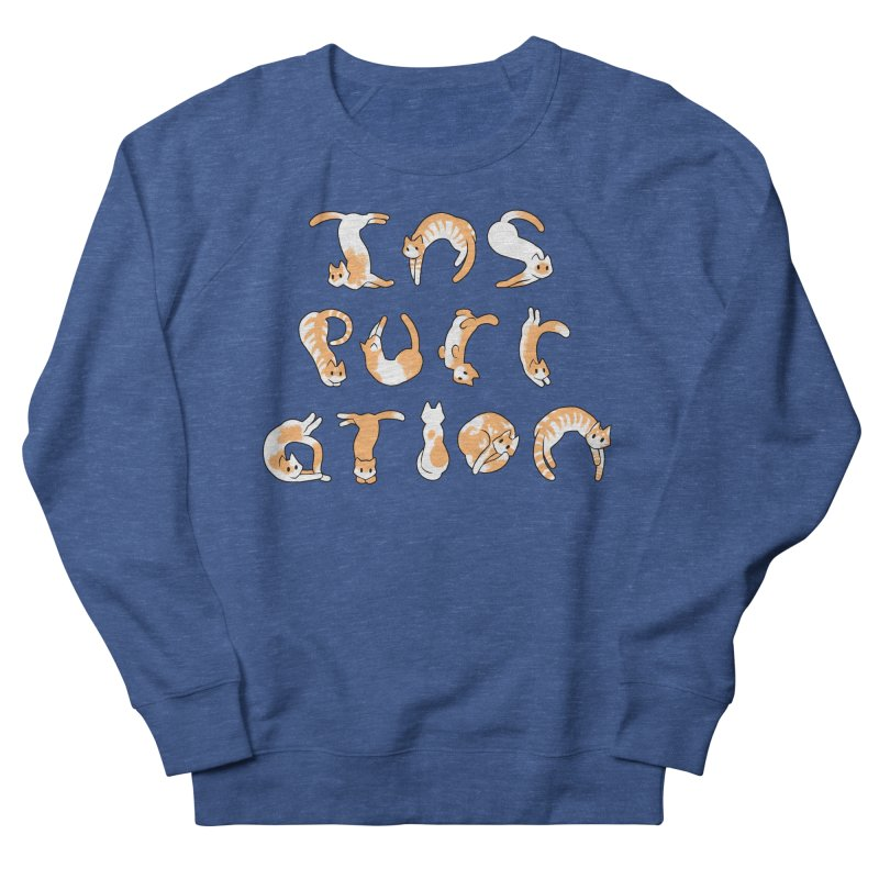 InsPURRation Men's Sweatshirt by dianasprinkle's Artist Shop