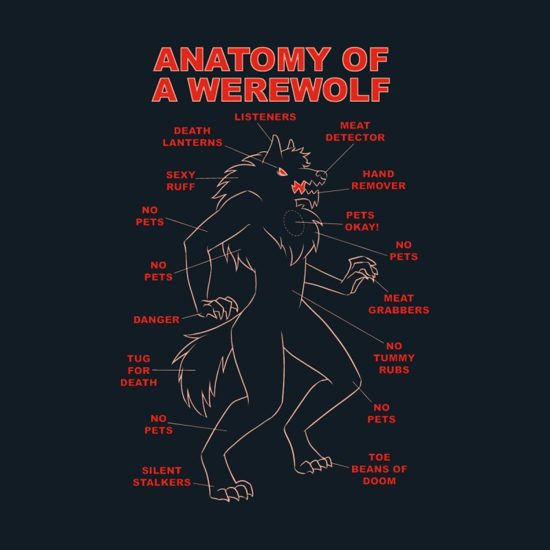 Anatomy of a Werewolf by dianasprinkle's Artist Shop