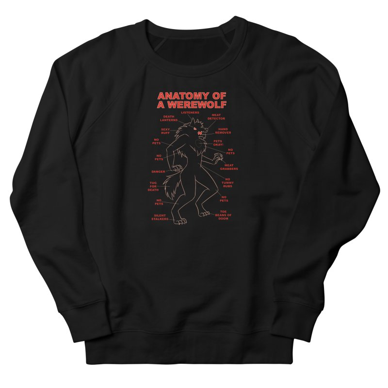 Anatomy of a Werewolf Women's Sweatshirt by dianasprinkle's Artist Shop