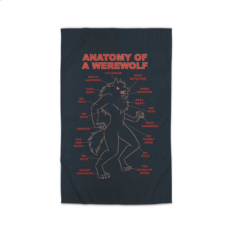 Anatomy of a Werewolf Home Rug by dianasprinkle's Artist Shop