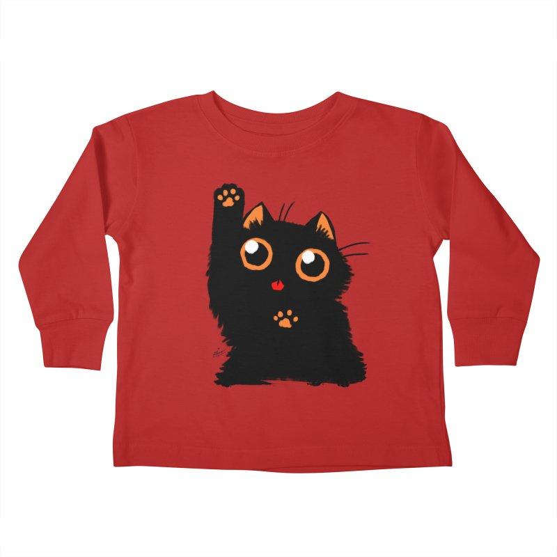 Let's Play Kids Toddler Longsleeve T-Shirt by dianasprinkle's Artist Shop