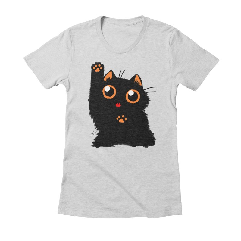 Let's Play Women's Fitted T-Shirt by dianasprinkle's Artist Shop