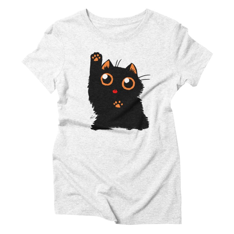 Let's Play Women's Triblend T-shirt by dianasprinkle's Artist Shop