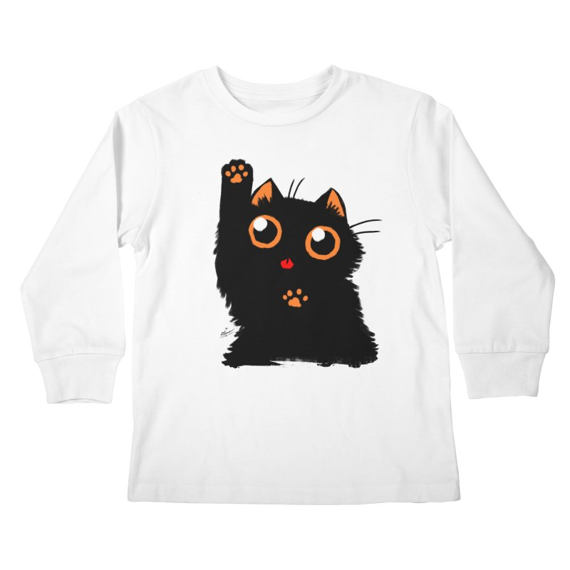 Let's Play Kids Longsleeve T-Shirt by dianasprinkle's Artist Shop
