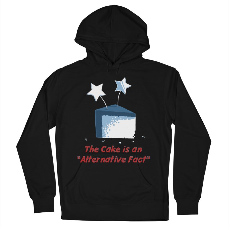 The Cake is an Alternative Fact Men's Pullover Hoody by dianasprinkle's Artist Shop