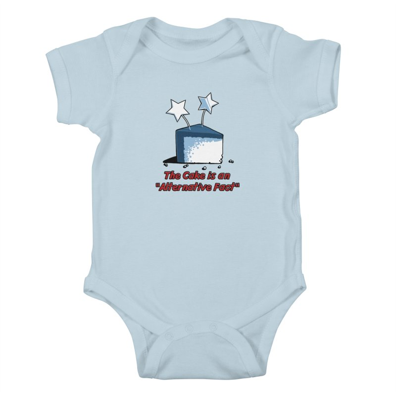 The Cake is an Alternative Fact Kids Baby Bodysuit by dianasprinkle's Artist Shop