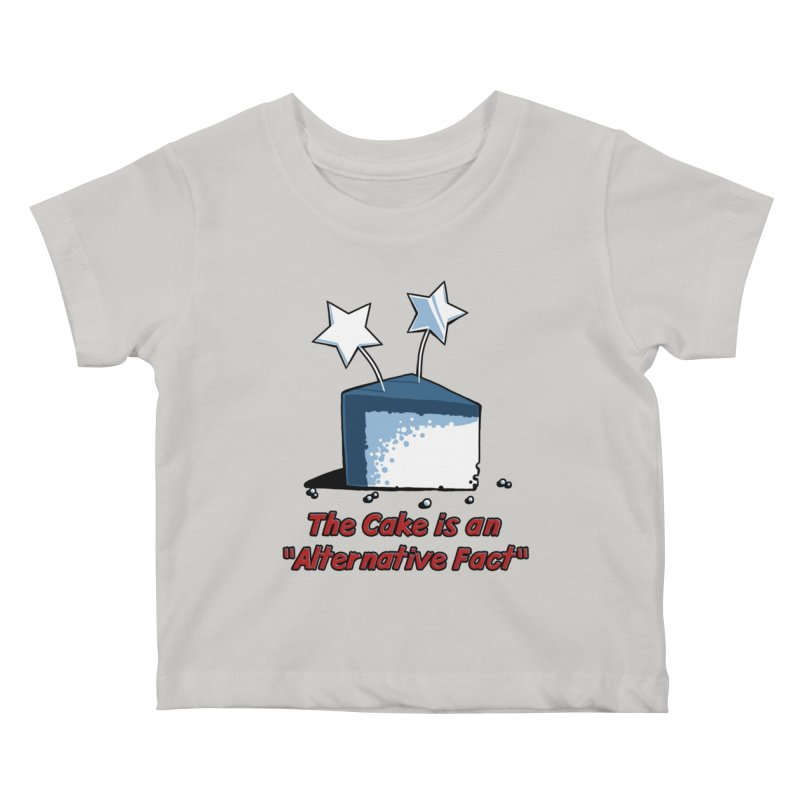 The Cake is an Alternative Fact Kids Baby T-Shirt by dianasprinkle's Artist Shop