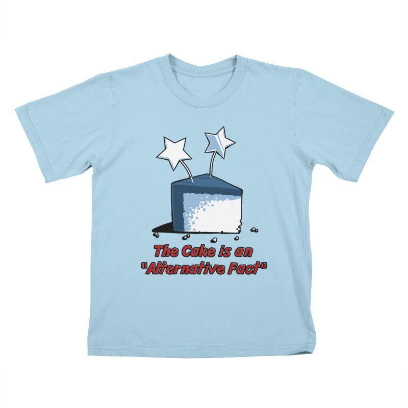 The Cake is an Alternative Fact Kids T-shirt by dianasprinkle's Artist Shop
